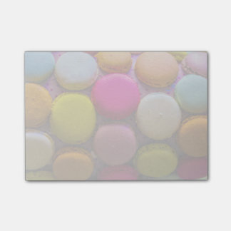 Colorful Macarons Tasty Baked Dessert Post-it Notes