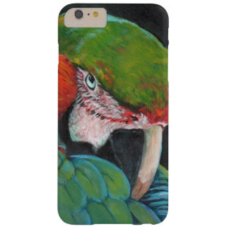 Colorful macaw barely there iPhone 6 plus case
