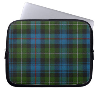 Colorful  MacKenzie Tartan Plaid Laptop Cover