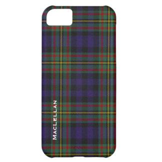 Colorful MacLellan Clan Tartan Plaid Cover For iPhone 5C