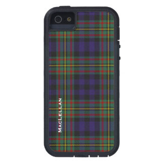 Colorful MacLellan Clan Tartan Plaid iPhone 5 Case