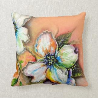 Colorful Magnolia Pillow