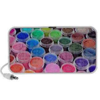 Colorful Make Up Pigment Travel Speakers