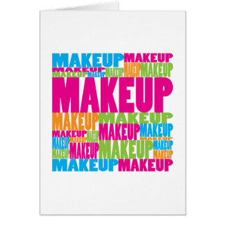 Colorful Makeup Card