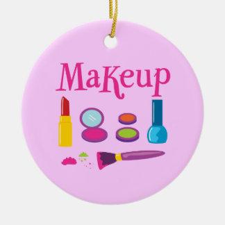 Colorful Makeup Ceramic Ornament
