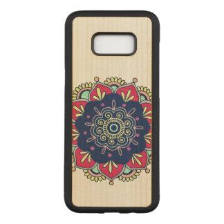 Colorful Manadala Design Carved Samsung Galaxy S8+ Case