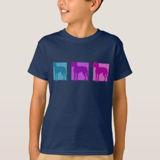 Colorful Manchester Terrier Silhouettes T-Shirt