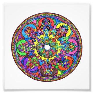 Colorful Mandala Art Photo