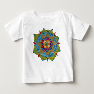 Colorful Mandala Baby Fine Jersey T-Shirt