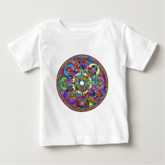 Colorful Mandala Baby T-Shirt