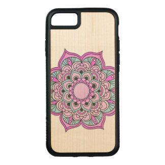 Colorful Mandala Carved iPhone 8/7 Case