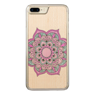 Colorful Mandala Carved iPhone 8 Plus/7 Plus Case
