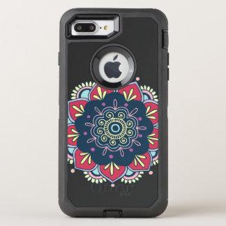 Colorful Mandala Design OtterBox Defender iPhone 8 Plus/7 Plus Case