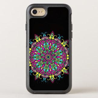 Colorful Mandala Design OtterBox Symmetry iPhone 8/7 Case
