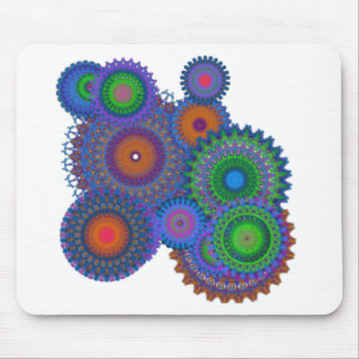 Colorful Mandala design to brighten your world. Mouse Pad