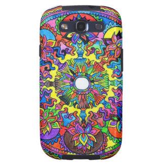 Colorful Mandala Galaxy SIII Cases