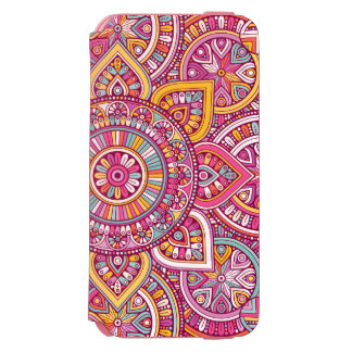 Colorful Mandala Incipio Watson™ iPhone 6 Wallet Case