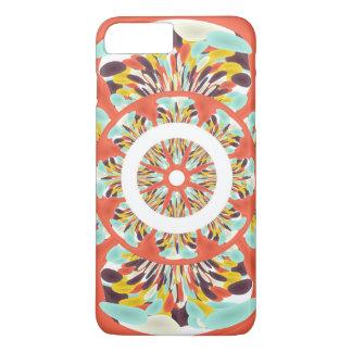 Colorful mandala iPhone 7 plus case