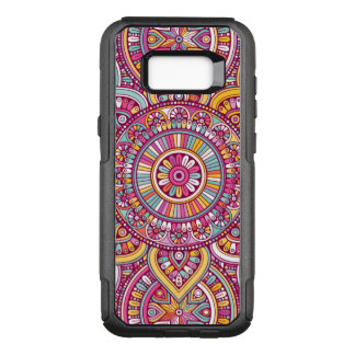 Colorful Mandala OtterBox Commuter Samsung Galaxy S8+ Case