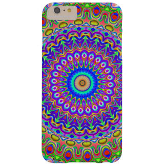 Colorful Mandala Pattern Purple And Green Pattern Barely There iPhone 6 Plus Case