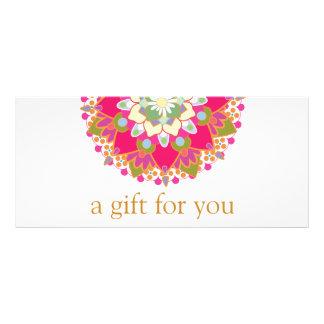 Colorful Mandala Salon Spa Gift Certificate
