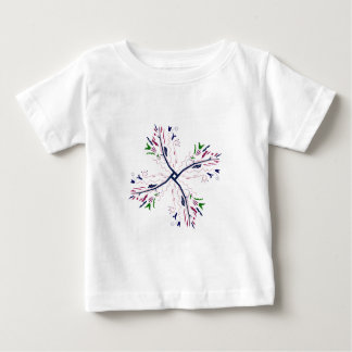 Colorful mandala vanilla baby T-Shirt