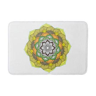 Colorful Mandalas for coloring book. Decorative Bath Mat