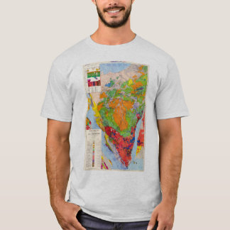COLORFUL MAP T-Shirt