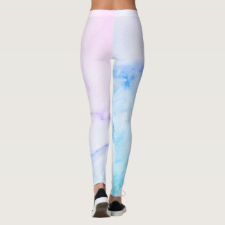 Colorful Marble Leggings