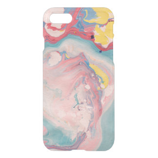Colorful Marble Swirls iPhone 7 Case