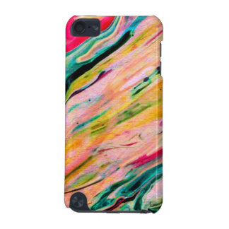 Colorful Marbleized Watercolors Background iPod Touch 5G Case