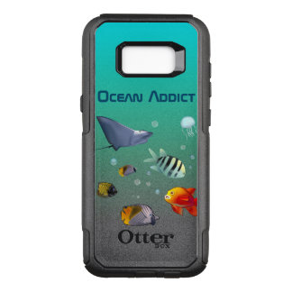 Colorful Marine Creatures OtterBox Commuter Samsung Galaxy S8+ Case