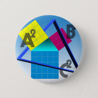 Colorful Mathematics 2 Inch Round Button