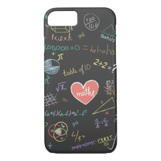Colorful Mathematics Formula Phone Case