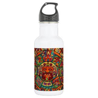 Colorful Mayan Calendar 532 Ml Water Bottle