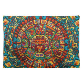 Colorful Mayan Calendar Placemat