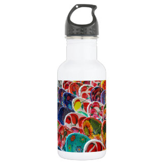Colorful Mayan Mexican Bowls 532 Ml Water Bottle