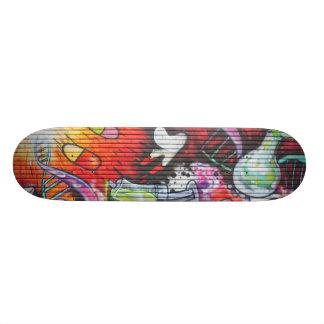 Colorful Medical Theme Graffiti Custom Skate Board