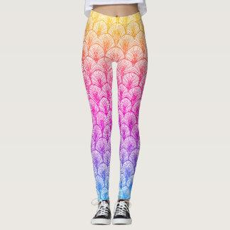 Colorful Mermaid Leggings
