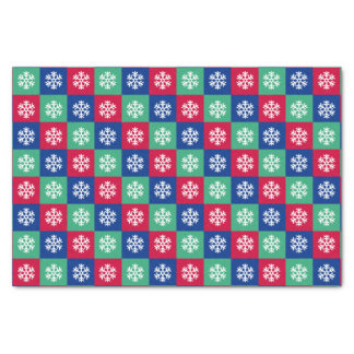 Colorful Merry And Bright Christmas Tissue Paper