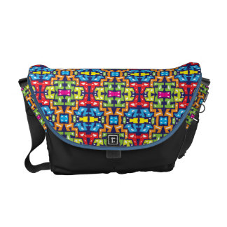 Colorful Messenger with Pattern 11 Courier Bags