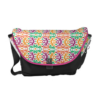 Colorful Messenger with Pattern 4 Courier Bags