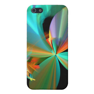 Colorful Metallic Flower Petals iPhone 5/5S Cover