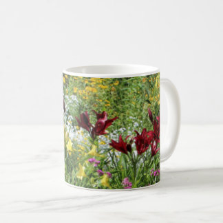 Colorful Mid-Summer Gardens! 4s Coffee Mug
