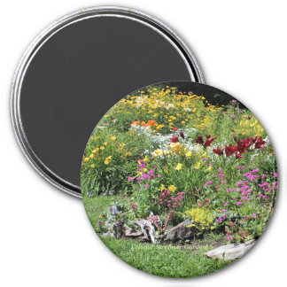 Colorful Mid-Summer Gardens! Magnet