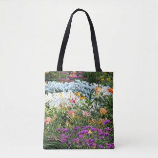Colorful Mid Summer Gardens! Tote Bag