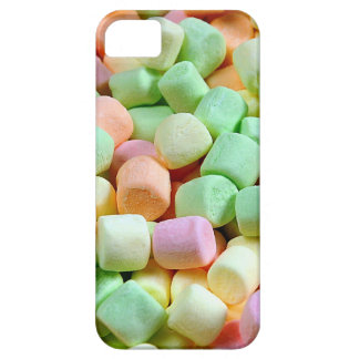 Colorful miniature marshmallow print iPhone 5 cases