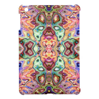 Colorful Mirror Image Abstract iPad Mini Cover
