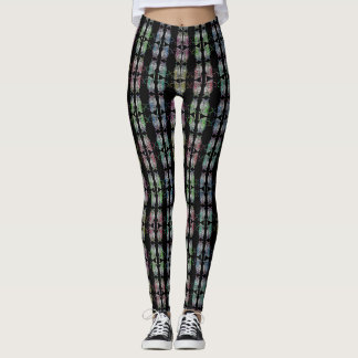 Colorful Mirrored Owls Leggings