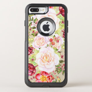 Colorful Mixed Flowers OtterBox Commuter iPhone 8 Plus/7 Plus Case